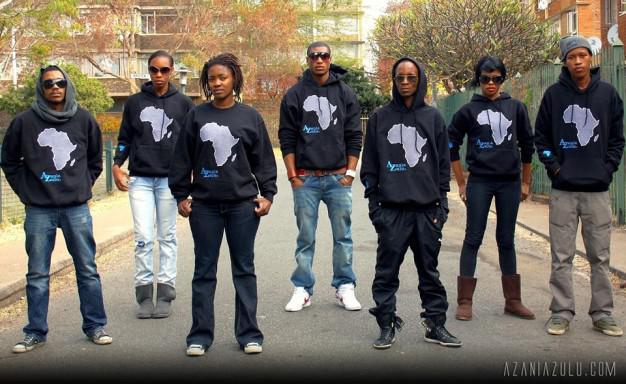 Azania Zulu's clothing line