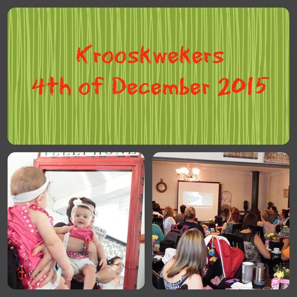 Krooskwekers 4 December 2015