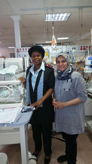 Sister Naughty Poho and Dr Farrah Ismail – Mediclinic Medforum