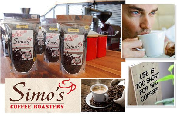 Coffee Tasting events at Simo's Coffee Roastery
