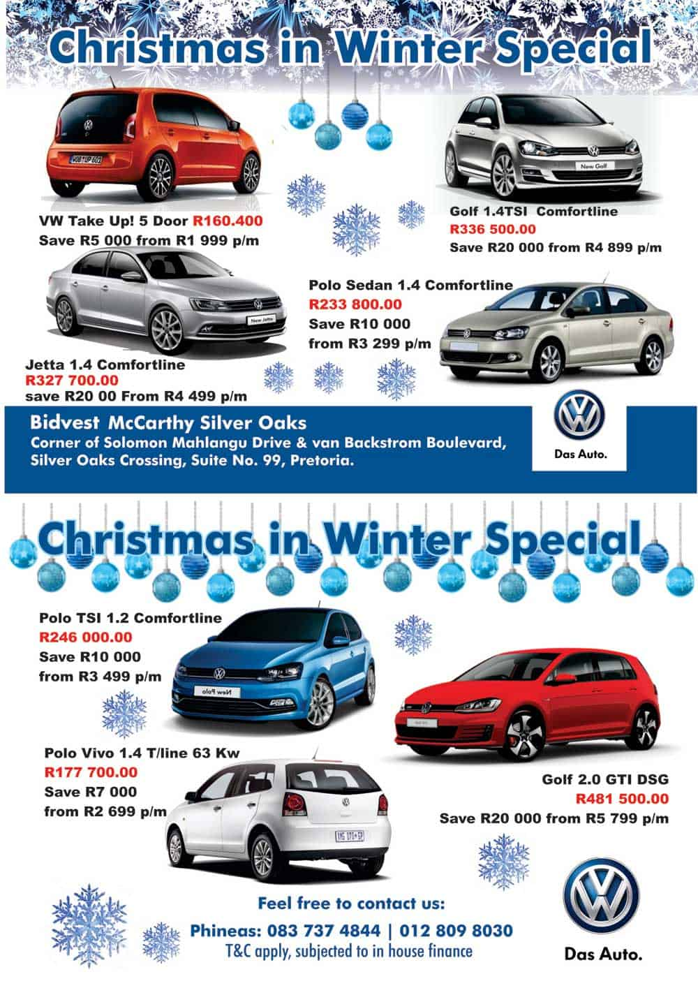 VW Silver Oaks  Hot Deals