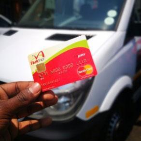 How Gauteng's cashless minibus taxi fare works