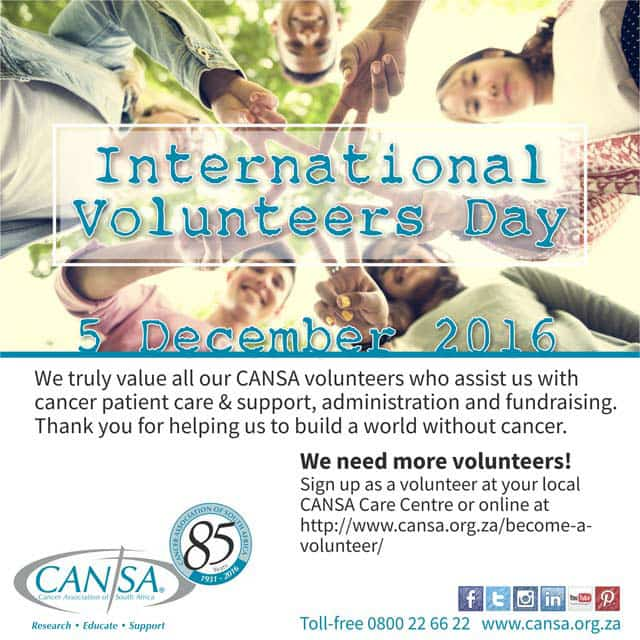 CANSA Thanks the People Who Pay It Forward