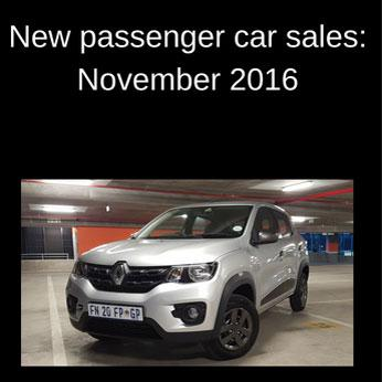 SA's top-selling cars