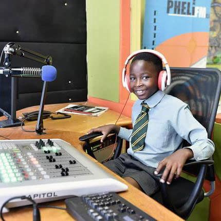 9-year-old Naledi wins Junior News Anchor of the Year