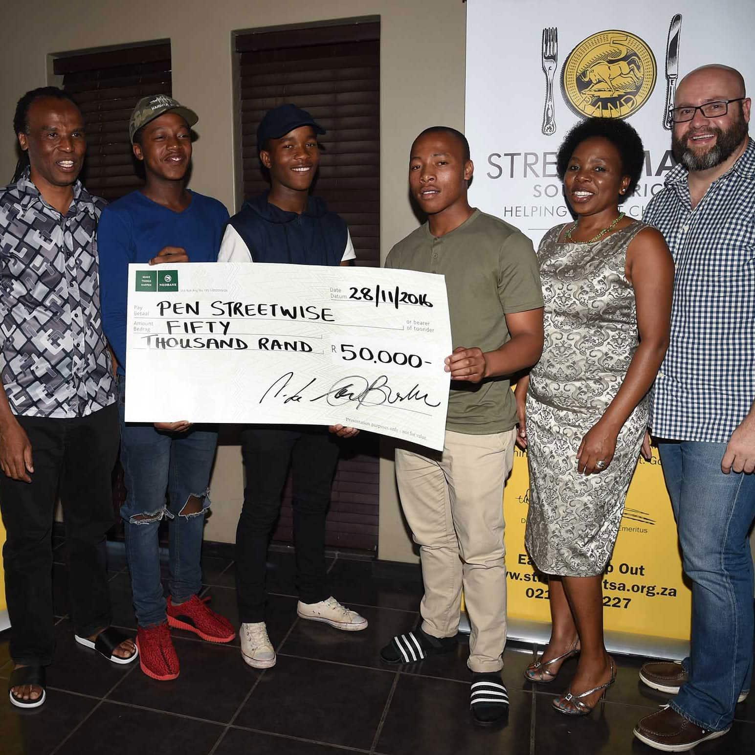 StreetSmart diners raise R 50 000 in Pretoria