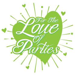 For The Love of Parties Logo