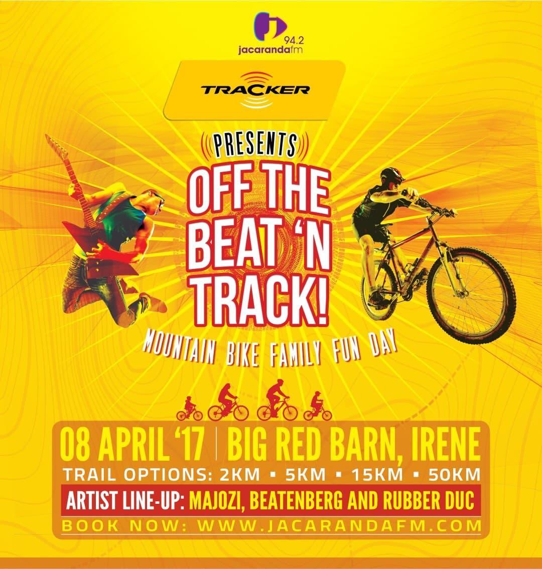 Tracker and Jacaranda FM present Off the Beat 'n Track ...