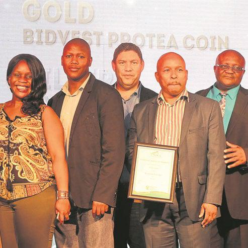 Mine honoured for projects
