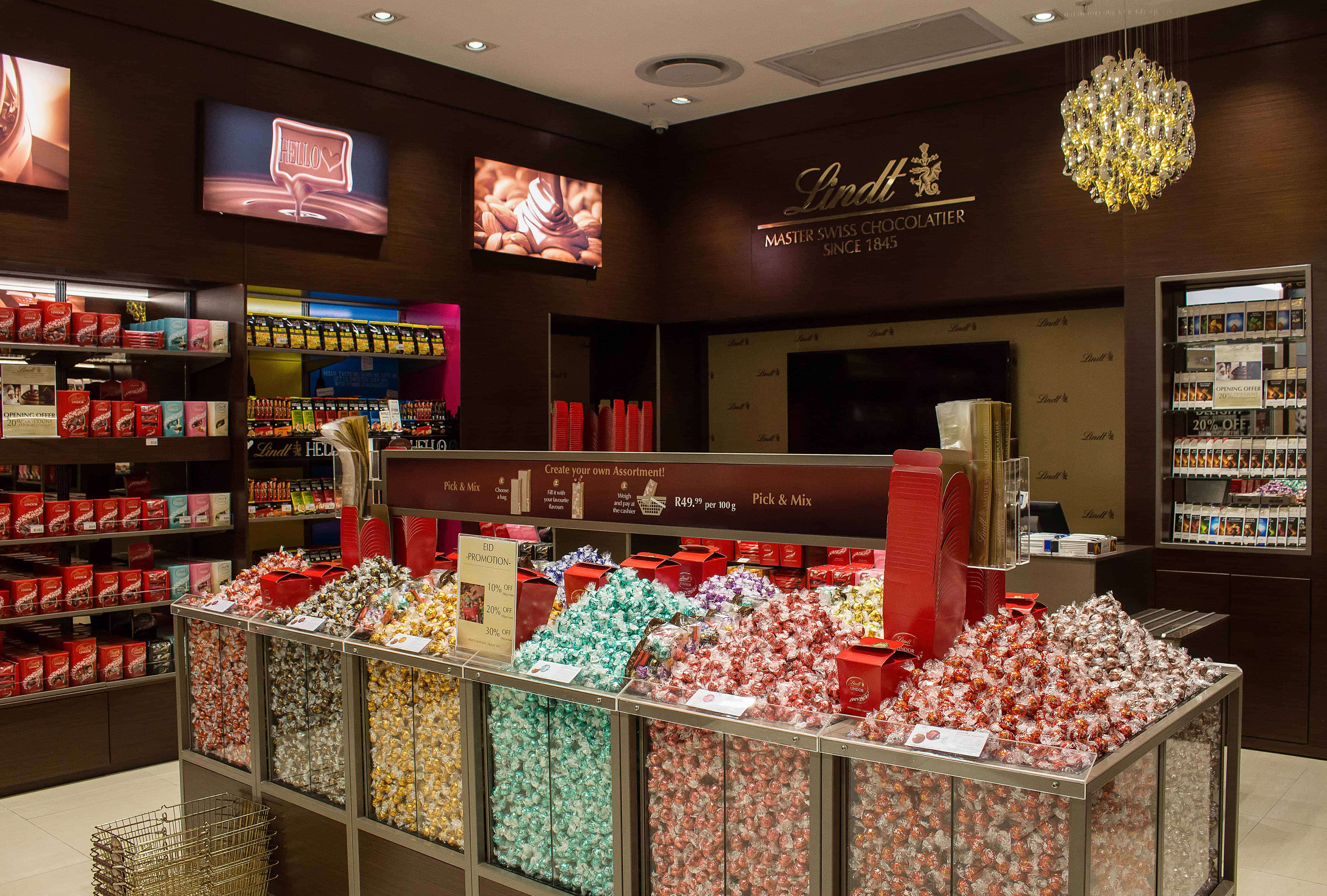 LINDT Chocolate Boutique Woodlands   South African News