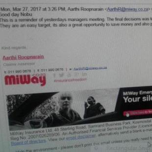 #MiWay to lay charges over 'extremely fake' mail