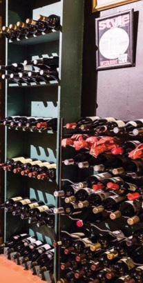 Pride of India Restaurant Wine List Image