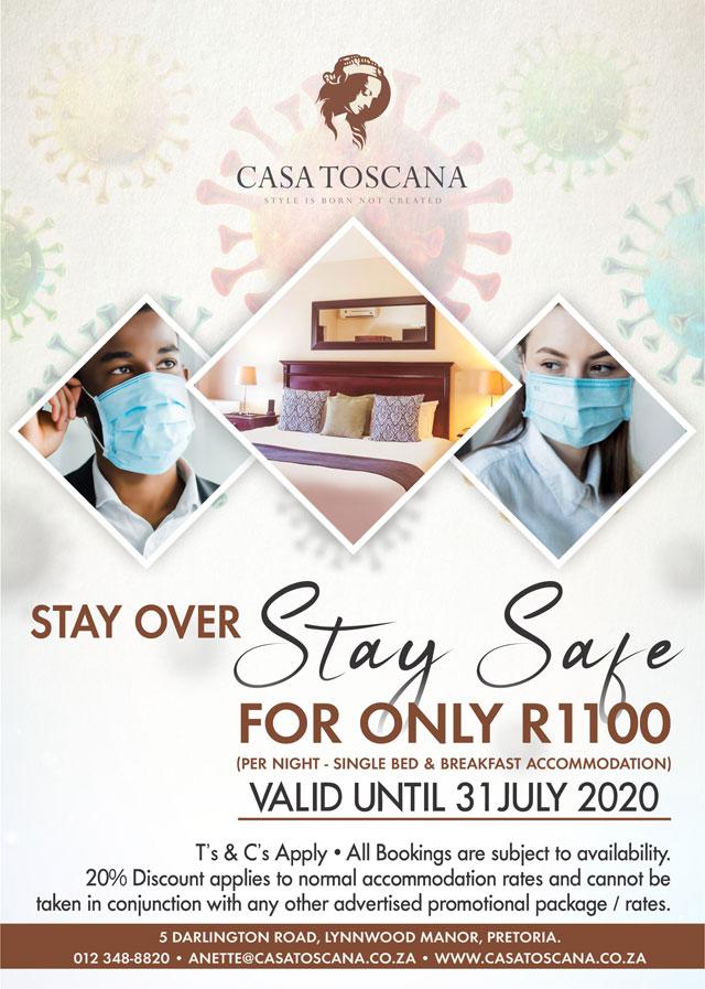 Casa Toscana Lodge - Accommodation Special