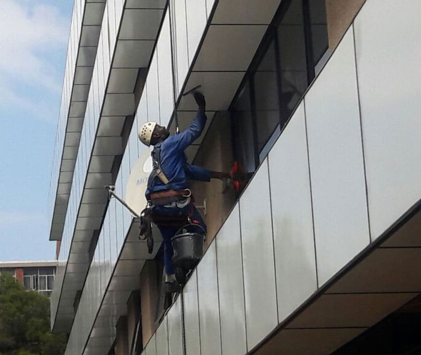 Cleaning of High Rise Buildings - Careline Enterprises