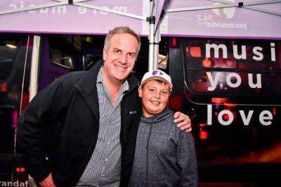 Jacaranda FM Scenic Drive host Rian van Heerden meeting one of the young fans