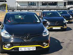 We drive Renault's fiery Clio RS 18 F1 limited edition hot hatch in Pretoria 244