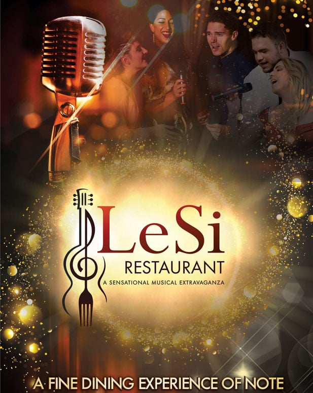 LeSi Performing Waiter Restaurant - A sensational musical extravaganza