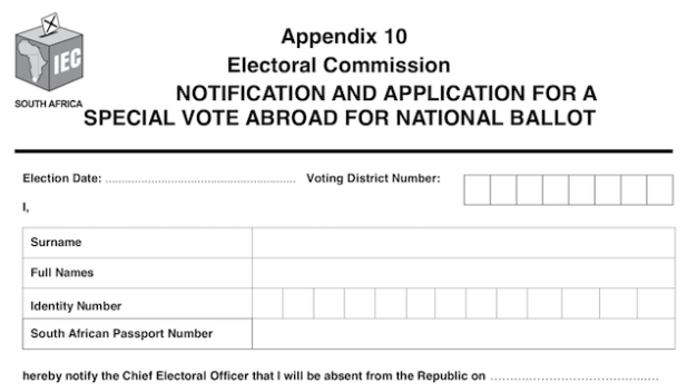 You had until 13 March to register to vote abroad