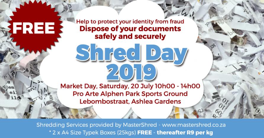Shred day | Pretoria