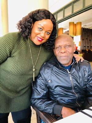 Carol Ofori Father's Day 2020