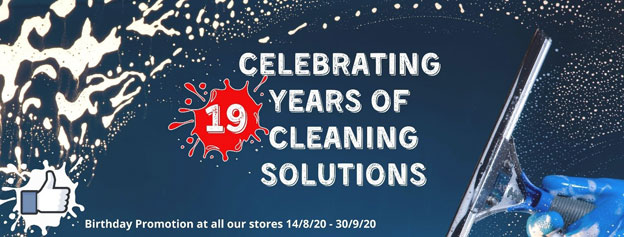 Cleaning Warehouse 19 Years Celebration