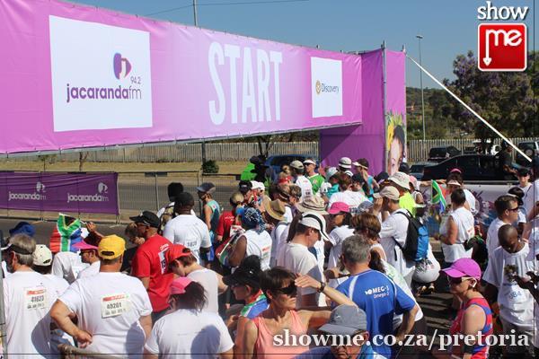 Discovery Jacaranda FM Spring Walk 2015   Pretoria
