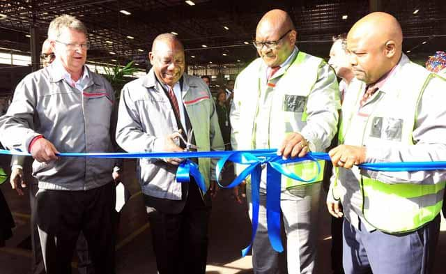 Launch of R3 billion investment at Nissan, Rosslyn ...