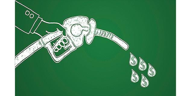 Saving ons fuel consumption