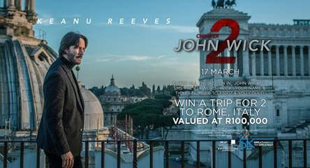 John Wick 2 competition