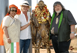 """Mohandas Karamchand """"Mahatma"""" Gandhi at Kedar Heritage Lodge"""