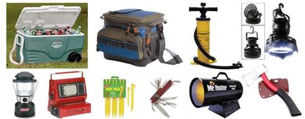 camping equipment626