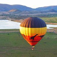 Hot air ballooning at Sun City