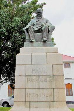 Paul Kruger statue Rustenburg