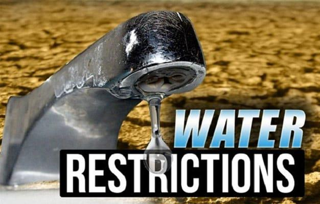 Water restrictions in Rustenburg