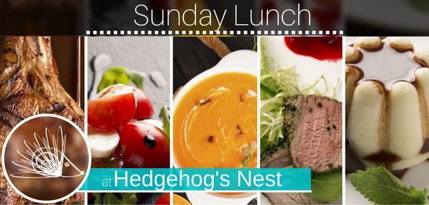 Hedgehog's Nest Sunday lunch