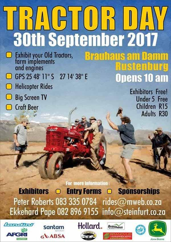 Tractor Day 2017