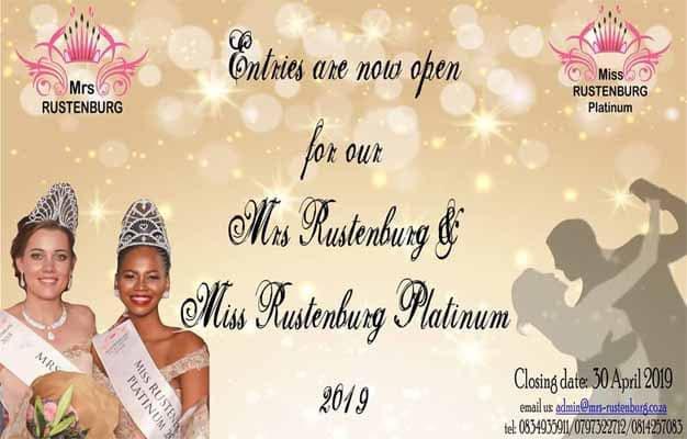 Entries Mrs & Miss Rustenburg