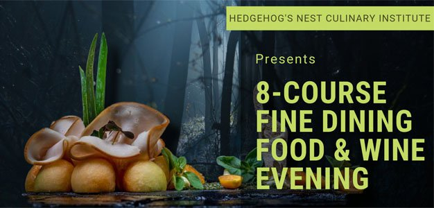 Food & Wine evening Hedgehog's Nest