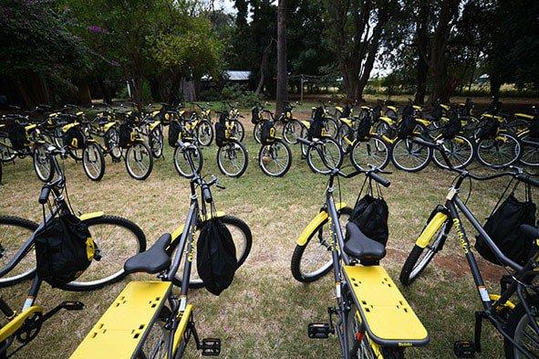 Qhubeka bicycles for Groot Marico