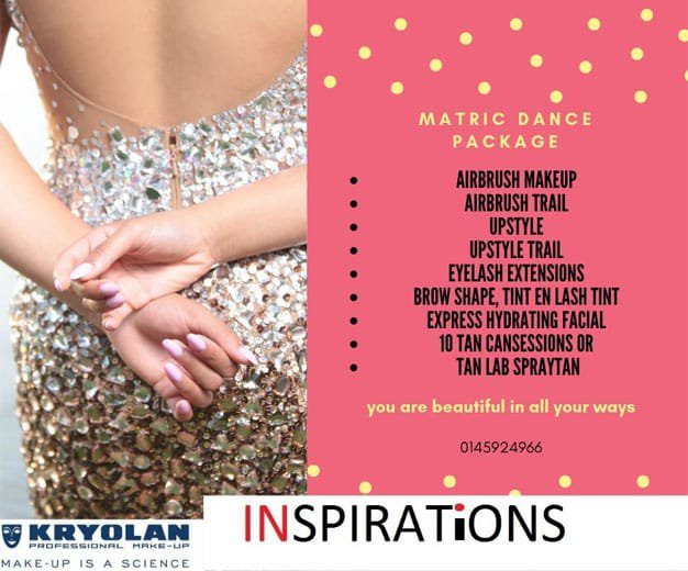 Matric Dance Package by Inspirations