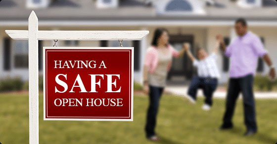 Safety tips for a safe open house