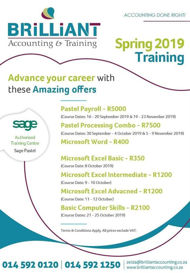Brilliant Accounting training Special