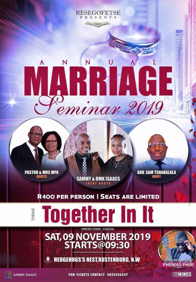 Annual Marriage Seminar