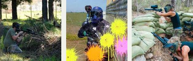 Fun and games at Extreme Paintball in Secunda.