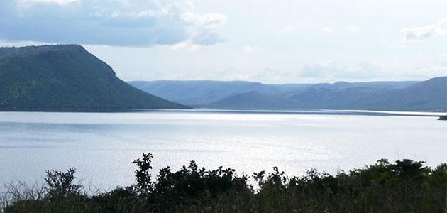 Picturesque hills and Valleys of Loskop Dam