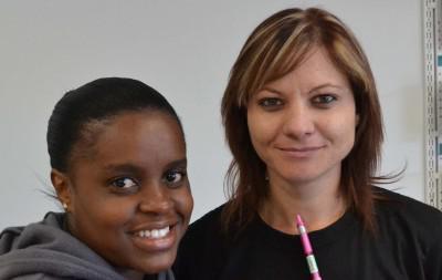 Josephine Khumalo en Elsie Potgieter
