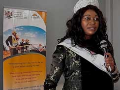 Mrs Mpumalanga believes a woman of substance is a woman of character