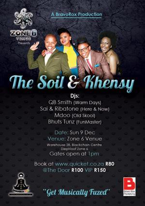 The soil khensy soweto for The soil 02joy