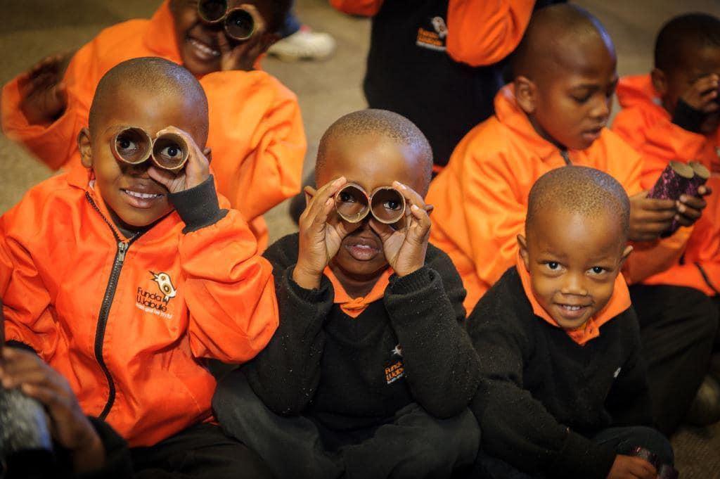 Student teachers create free libraries | Soweto