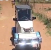 Unemployed man a sensation in his village with pedal car built from scrap